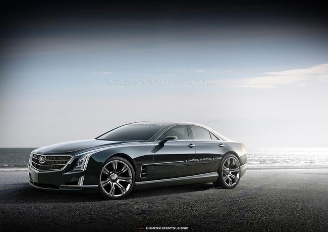 Cadillac ấp ủ mẫu sedan mới cực hot 1